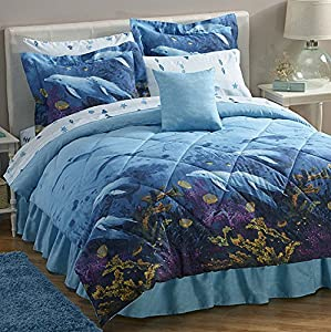 Amazon Com Dolphins Under The Sea King Comforter Sheets