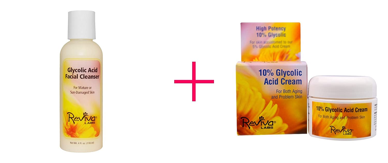 Reviva Glycolic Acid Facial Cleanser For Mature And Sun Damaged Skin - 4 Oz, 2 Pack DDI 411003 Medseptic Skin Protectant Cream Case Of 24