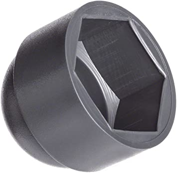 8 x Schutzkappe Abdeckkappe Sechskant M16 Schlüsselweite 24 mm schwarz weiß grau