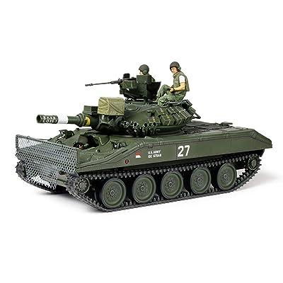 Tamiya America, Inc 1/35 U.S. Airborne Tank M551 Sheridan Vietnam War, TAM35365: Toys & Games