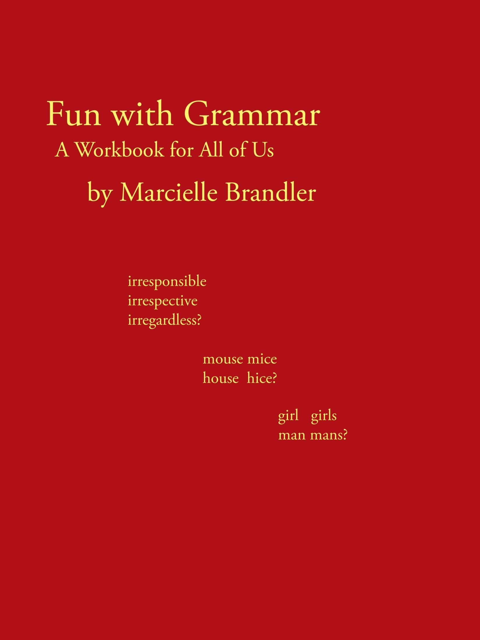 Download Fun With Grammar: A Workbook For All Of Us pdf epub