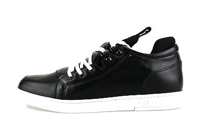 CESARE PACIOTTI 4US 40 EU Sneakers Herren Schwarz Leder