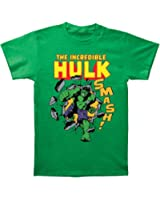 Marvel Comics The Incredible Hulk Smash! Adult Tee Shirt