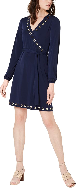 Michael Kors Womens Grommet A-Line Popular overseas Over item handling ☆ Detail Dress