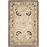 Safavieh Anatolia Collection AN512D Handmade Traditional Oriental Ivory and Brown Premium Wool Area Rug (2′ x 3′) Review