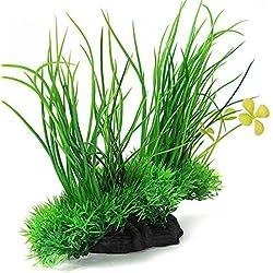 Aquarium Fish Tank Artificial Plastic Plant Green Grass Decoration