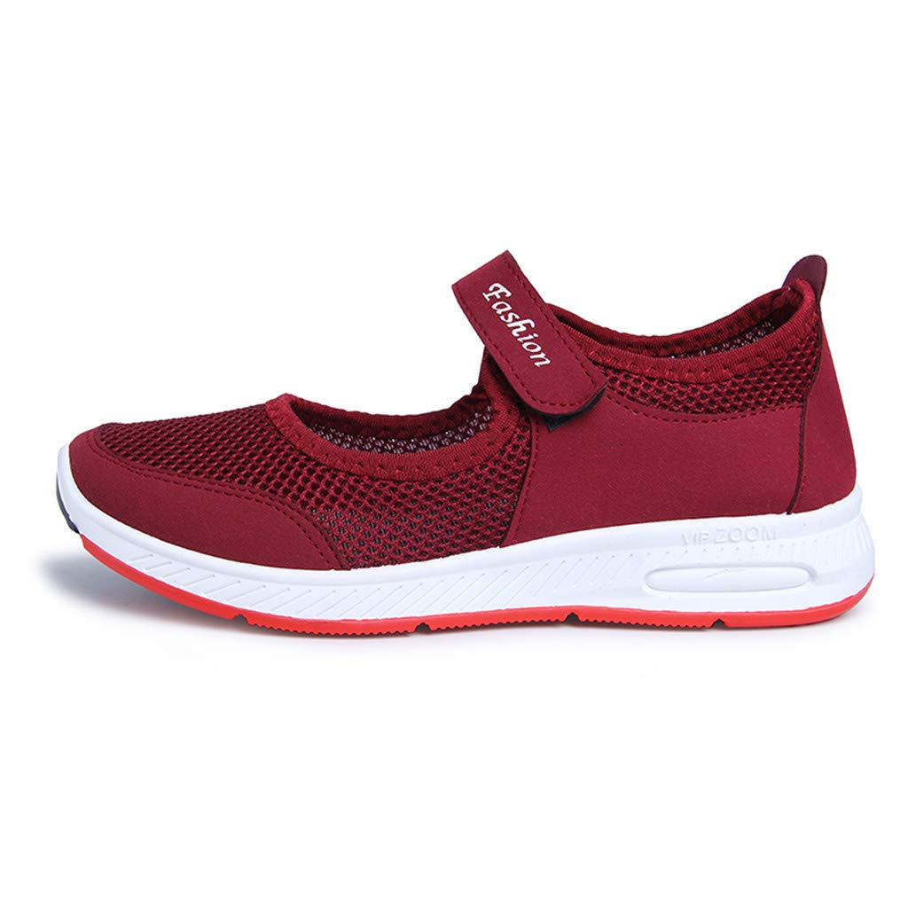 Mesh Breathable Sneakers Casual Shoes Running Shoes Esharing 2019 Womens Casual Shoes