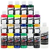 Createx Colors Airbrush Paint - 22 Colors and