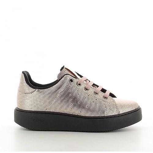Zapatillas Victoria Rosa Metalizado - T 36: Amazon.es: Zapatos y complementos
