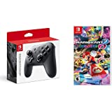 Nintendo Switch Pro Controller Bundle with Mario Kart 8 Deluxe - Nintendo Switch