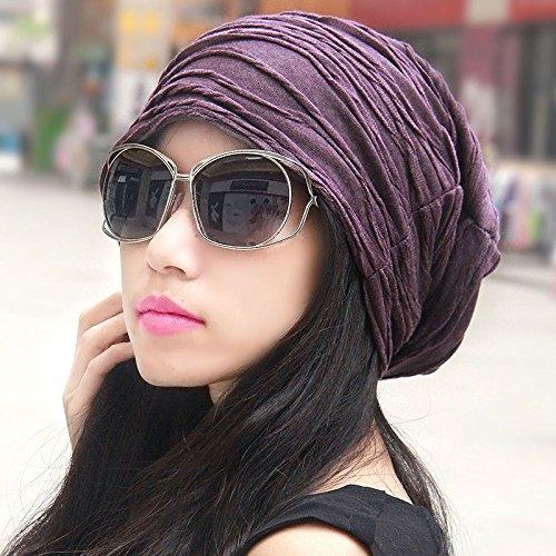 The Korean version of the tide of men and women to the turban cap pile cap head shaved korea kit Cap