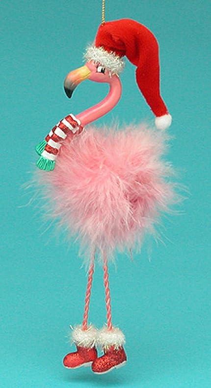 flamingo christmas ornaments