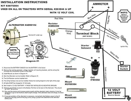 3 Wire Ford Alternator Voltage Diagram
