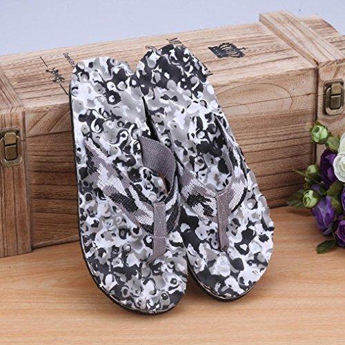 Noir et Summer Tongs Fulltime® Chaussures Men intérieures Tongs Camouflage Pantoufle extérieures vnnqTSwaC