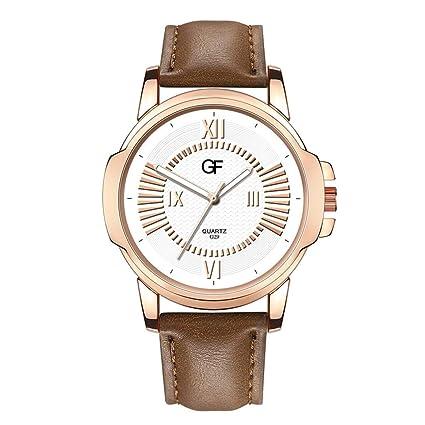Reloj para Hombre,Reloj de Cuero de Hombre Caliente Lo Que Sea ...