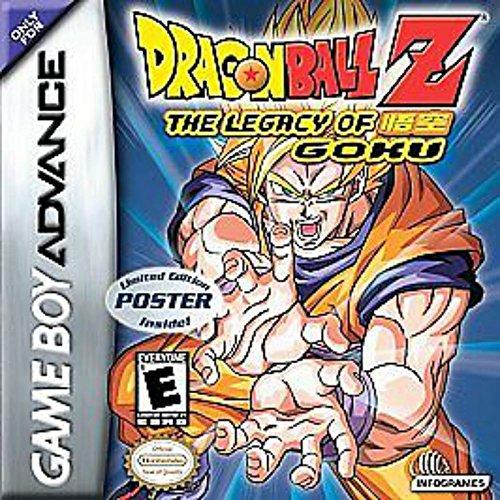 Dragon Ball Z: The Legacy of Goku - Game Boy Advance GBA Game (Dragon Ball Z Game Psp)