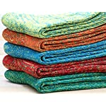 5 Pack Womens Vintage Thick Knit Warm Wool Cotton Crew Socks 5-9 WS22