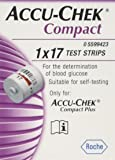 Accu-Chek Compact Test Strips Pack of 17 (Eligible for VAT relief in the UK)