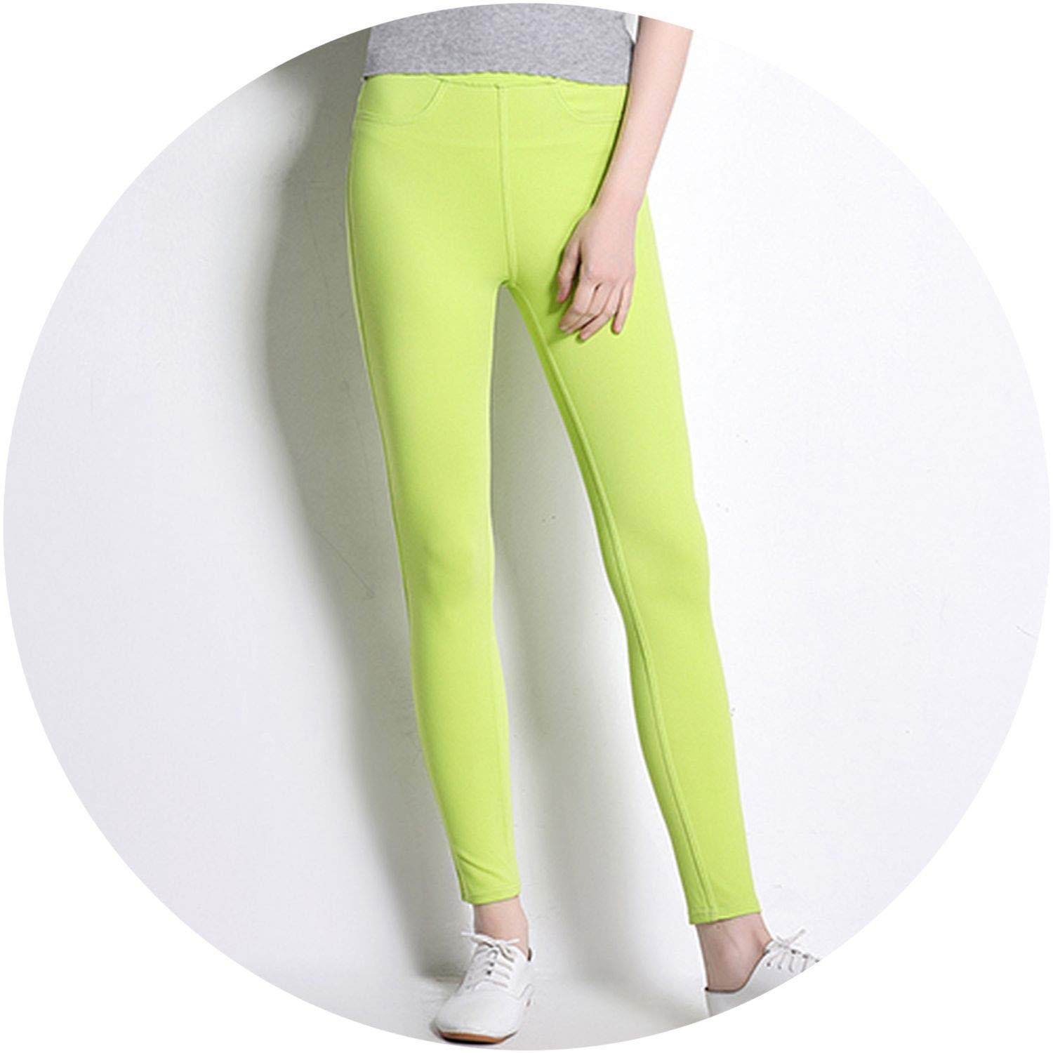 Women Thin Bottoms Stretch Pantalon Femme Clothing High ...