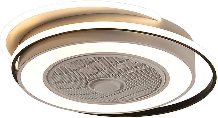 LED Ventilateur au plafond Lumière invisible ventilateur de