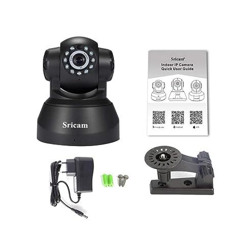 Sricam 1280 * 720 Detección de Movimiento Alarma Cámara Red Cámara IP inalámbrica Monitoreo de Seguridad