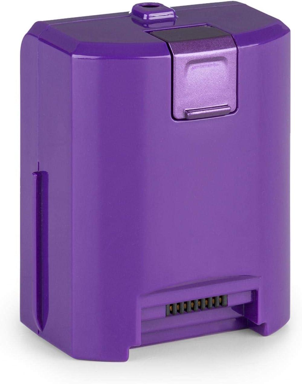 Oneconcept cleanFree Aspiradora con batería - Batería de iones de litio, violeta: Amazon.es: Hogar