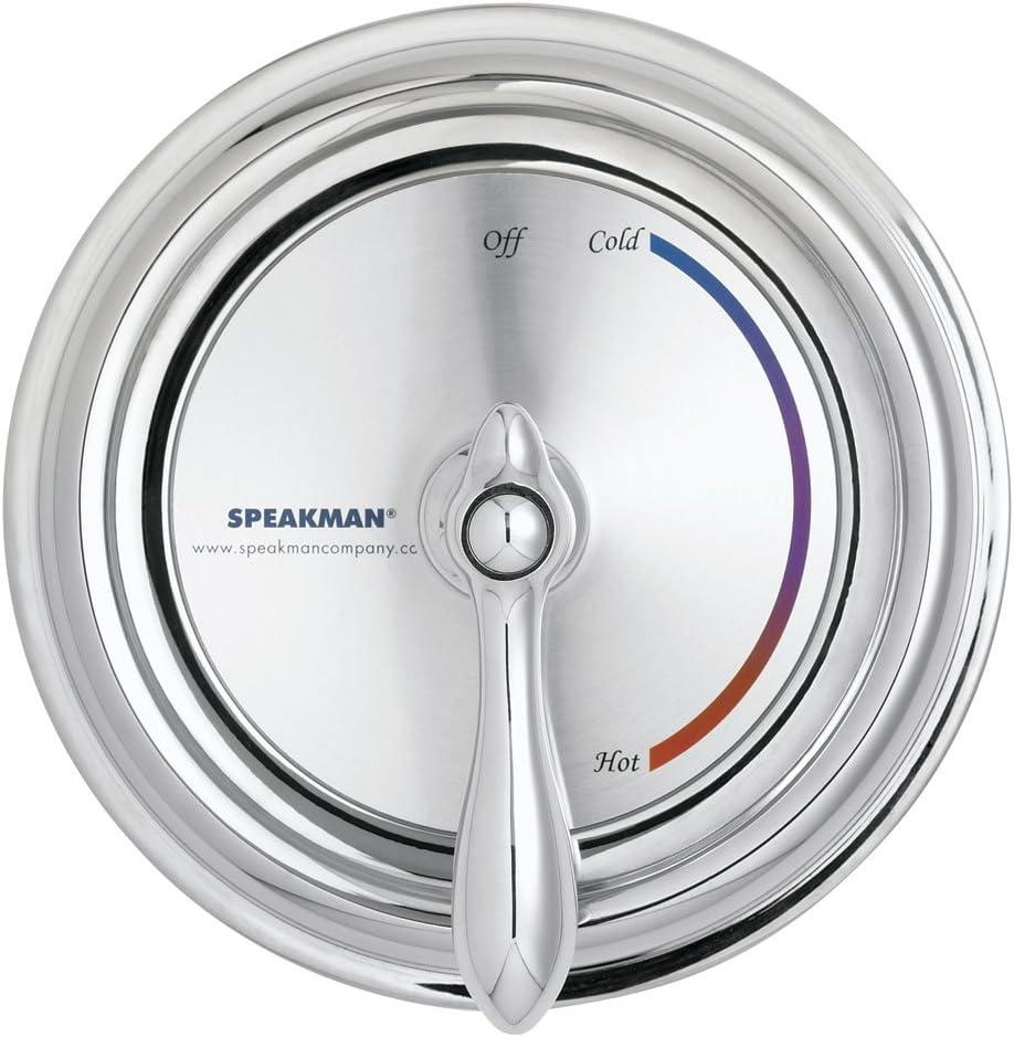 Speakman Sm 3000 Sentinel Mark Ii Pressure Balanced Shower Valve And Trim Polished Chrome Faucet Trim Kits Amazon Com
