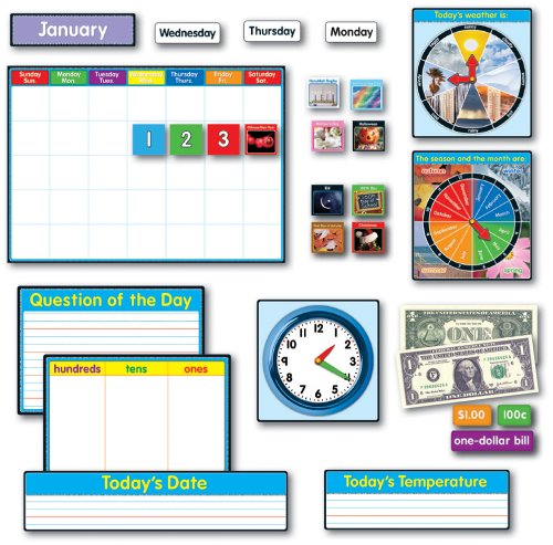Carson Dellosa Morning Meeting Solution Bulletin Board Set (110114)