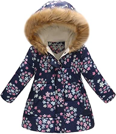 Autumn Floral Print Zipper Hooded Coat Lightweight Outerwear Youmymine Toddler Kids Baby Grils Boys Long Sleeve Jacket