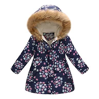 Amazon.com: GoodLock Clearance!! Baby Boys Girls Winter Warm Coats Toddler Floral Butterfly Hooded Windproof Jacket Coat: Clothing