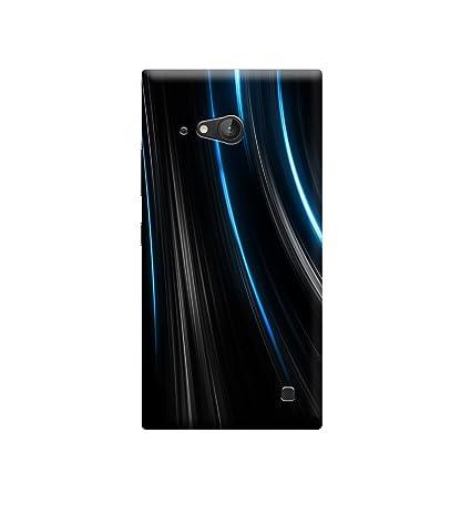 half off 16879 d86d6 Ebby Premium Designer Back Cover for Nokia Lumia 730: Amazon.in ...
