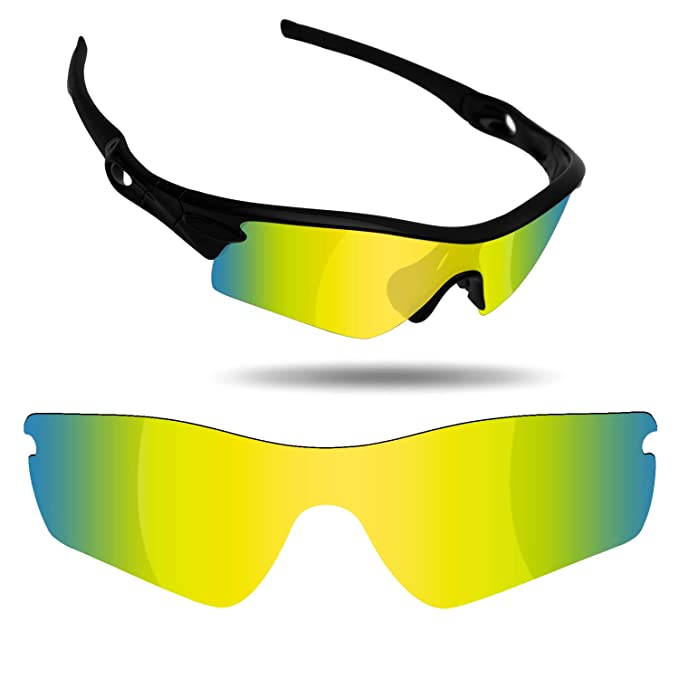 Fiskr Anti-Saltwater Replacement Lenses for Oakley Radar Path Sunglasses - Various Colors