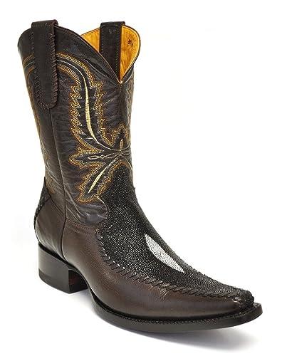 Amazon.com | Gavel Men's Handmade Genuine Stingray Spanish Toe ...