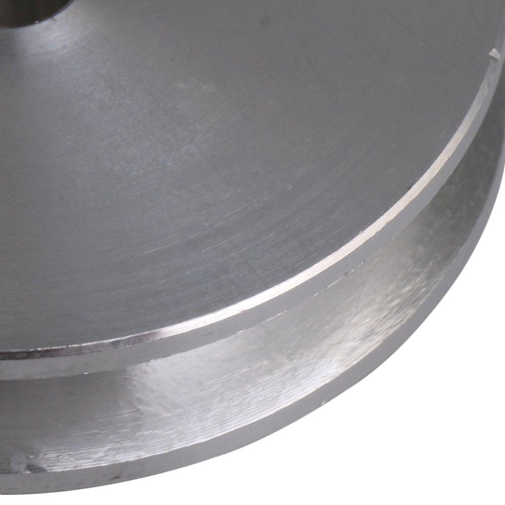 41mm Durchmesser 12mm ?ffnung Aluminium Einzel Schlitz Einloch Nut Schritt Riemenscheibe Rillenrolle