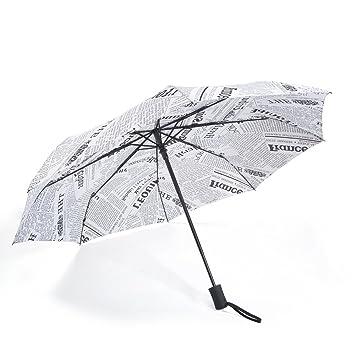 bedee Auto Abrir Cerrar paraguas resistente al viento – tamaño de viaje para hombre (Ladies