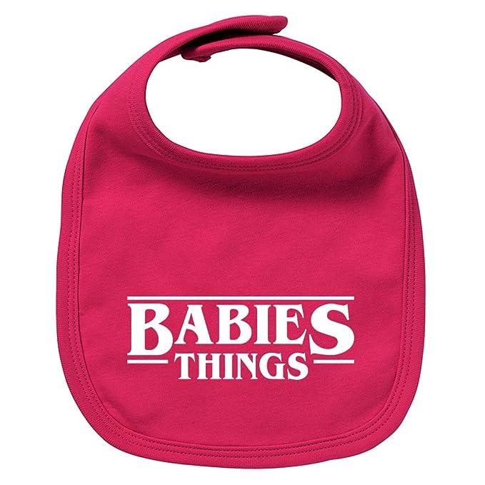 Babero de bebé Babies things (Stranger things - parodia ...