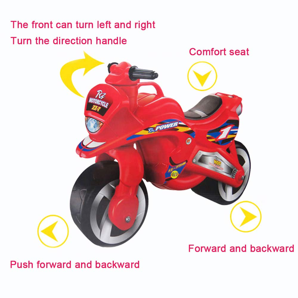 deAO Ride On Balance - Motocicleta para niños con diseño ...