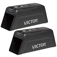 Victor M2-2P M2 Smart-Kill Wi-Fi Electronic Rat Trap-2 Pack,Black