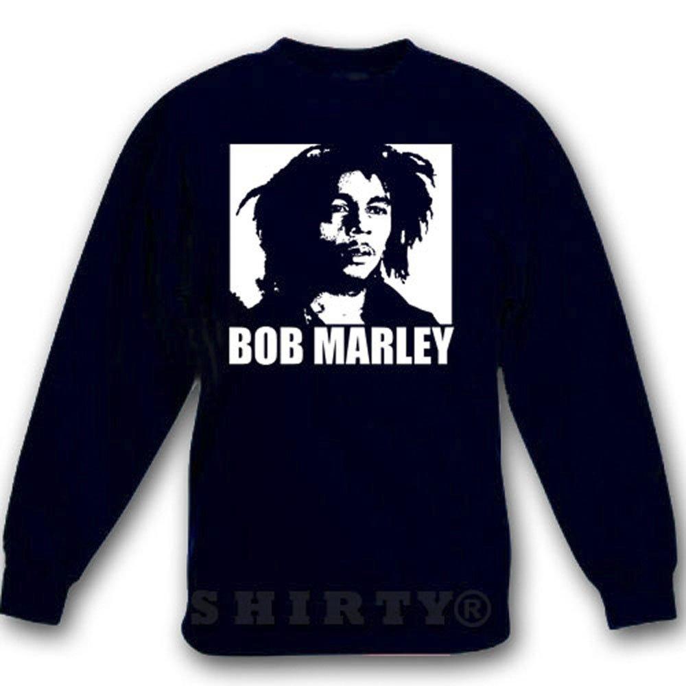 Bob Marley 2 - Sweat - Shirt - schwarz - S bis 5XL - 1097