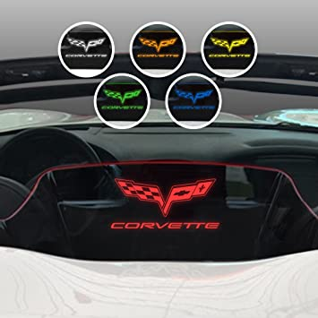Customization Options C6 2005-2013 Corvette Windshield Decals