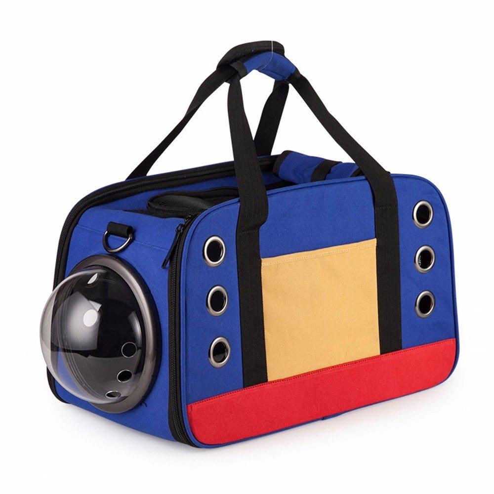 Pet-Zaino _ Portable Portable Canvas Tasche spazio capsula Pet di cuccioli e cani in pratico zaino
