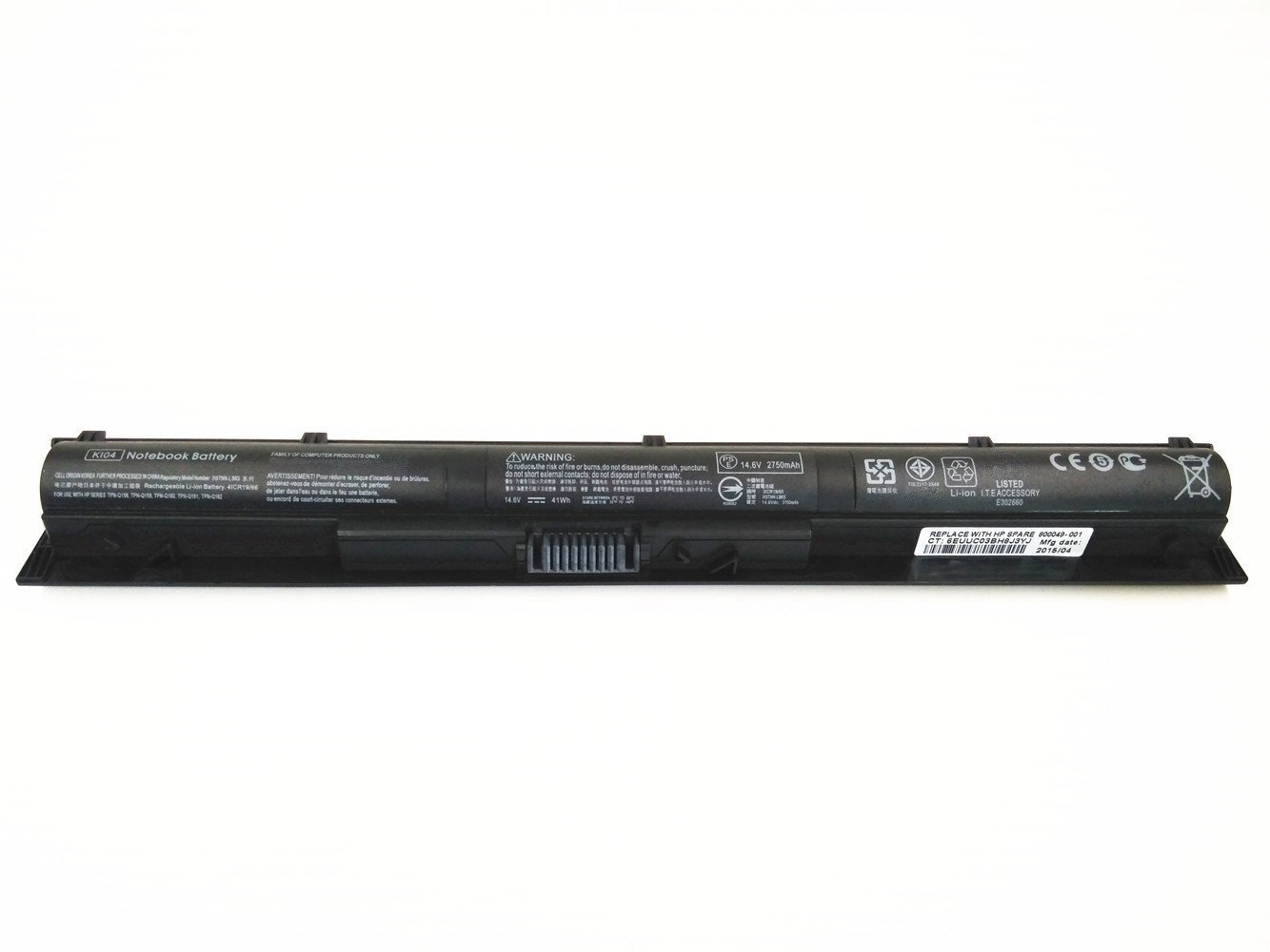 7xinbox 14.6V 41Wh KI04 Repuesto Batería para HP Pavilion 14-ab000 Series HP Pavilion 15-ab000 Series HP Pavilion 17-g000 Series,HP HSTNN-LB6S/DB6T ...