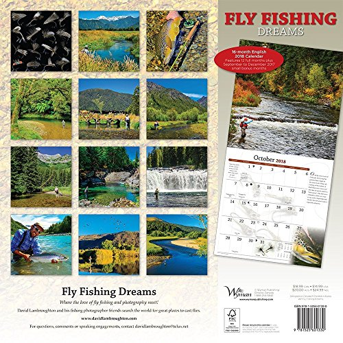 Fly Fishing Dreams 2018 Wall Calendar Photo #3