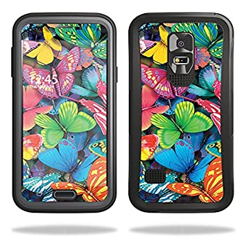 free shipping 905d3 a381d MightySkins Skin for OtterBox Preserver Samsung Galaxy S5 Case – Butterfly  Party | Protective, Durable, and Unique Vinyl Decal wrap Cover | Easy to ...