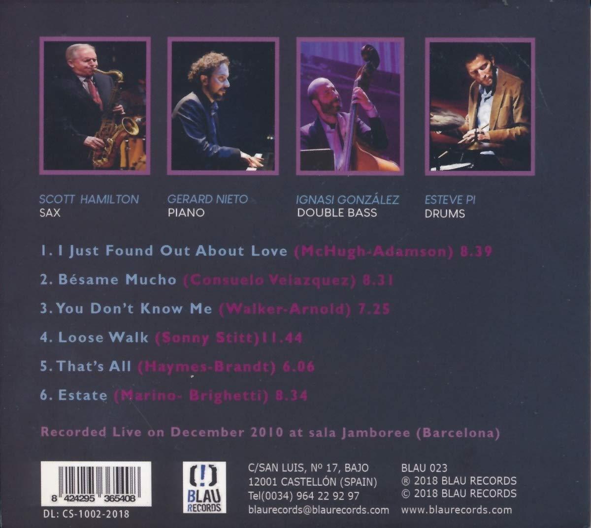 Amazon.com: Besame Mucho Live in Barcellona Vol 2 Sc: Music