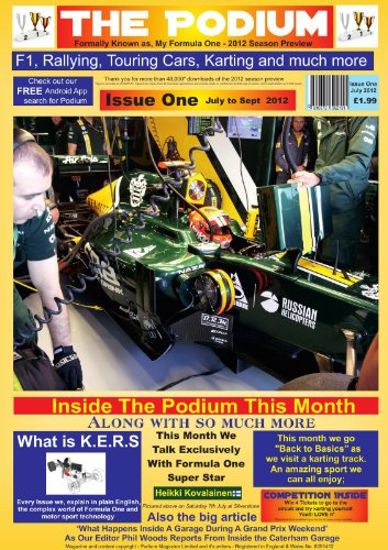 Formula 1 Magazine - The Podium Issue One - Motor Sort Magazine