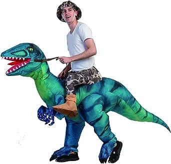 Amazon.com: GMELLC Disfraz hinchable de dinosaurio para ...
