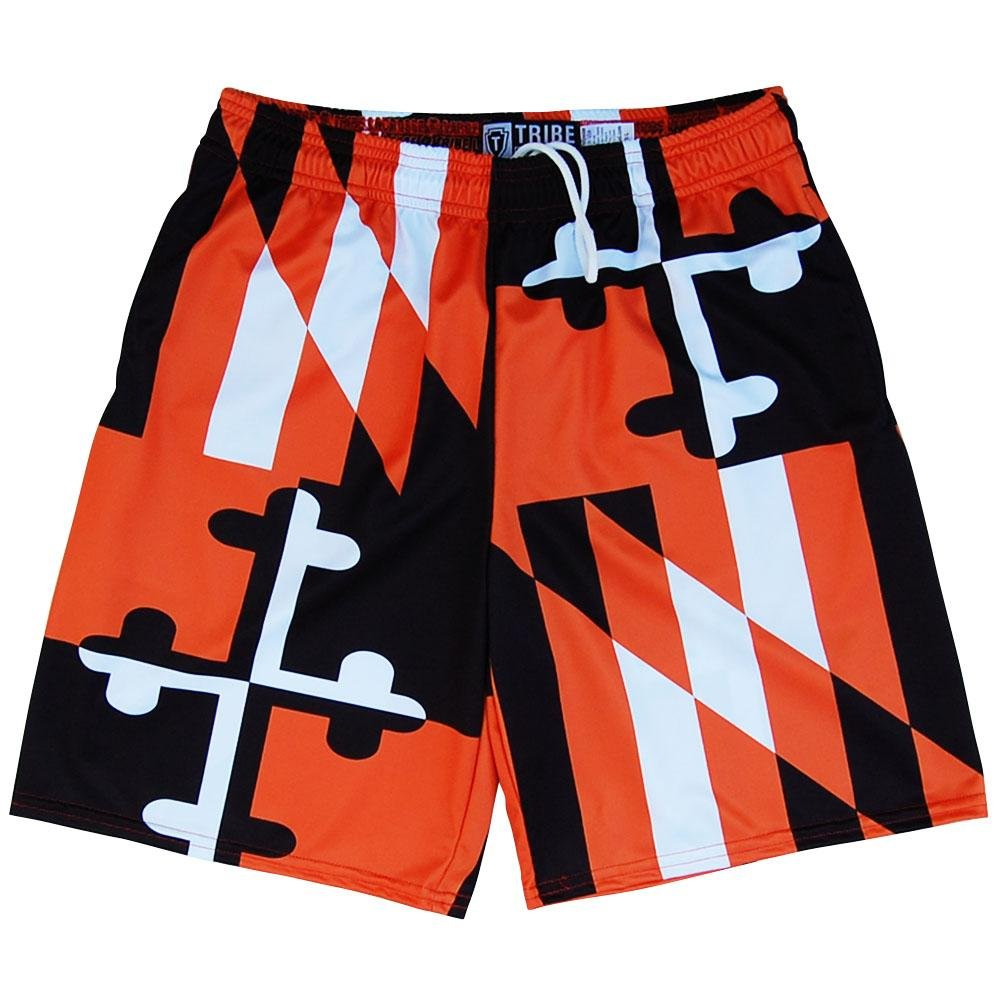 Maryland Flag Orioles Colors Lacrosse Shorts