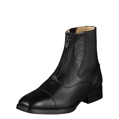 Ariat Womens Monaco Zip Paddock 7.5 B / Medium(Width) Black Calf