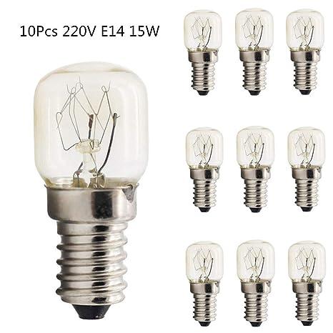 Amazon.com: OUYAWEI 10 unidades 15 W/25 W E14 220 V 300 ...